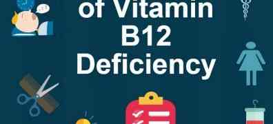 Vitamin B12 Deficiency Causes and Symptoms