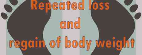 Repeated loss and Regain of body weight